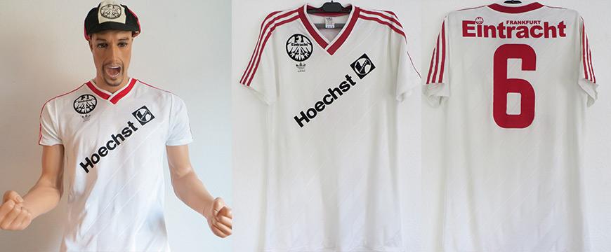Eintracht Frankfurt Trikot Hoechst 1989