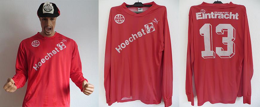 Eintracht Frankfurt Trikot 1990 Hoechst