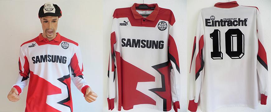 Eintracht Frankfurt Trikot Samsung 1993