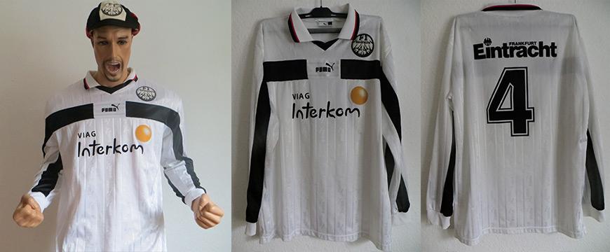 Eintracht Frankfurt Trikot Matchworn1998 Viag Interlom