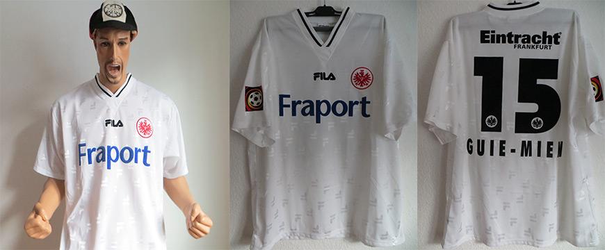 Eintracht Frankfurt Trikot Guien Mien 2002 Matchworn