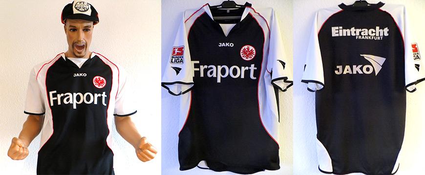 Eintracht Frankfurt Trikot Stangen