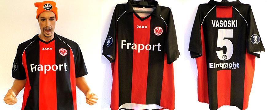 Eintracht Frankfurt Trikot Vasoski Uefa Cup 2006
