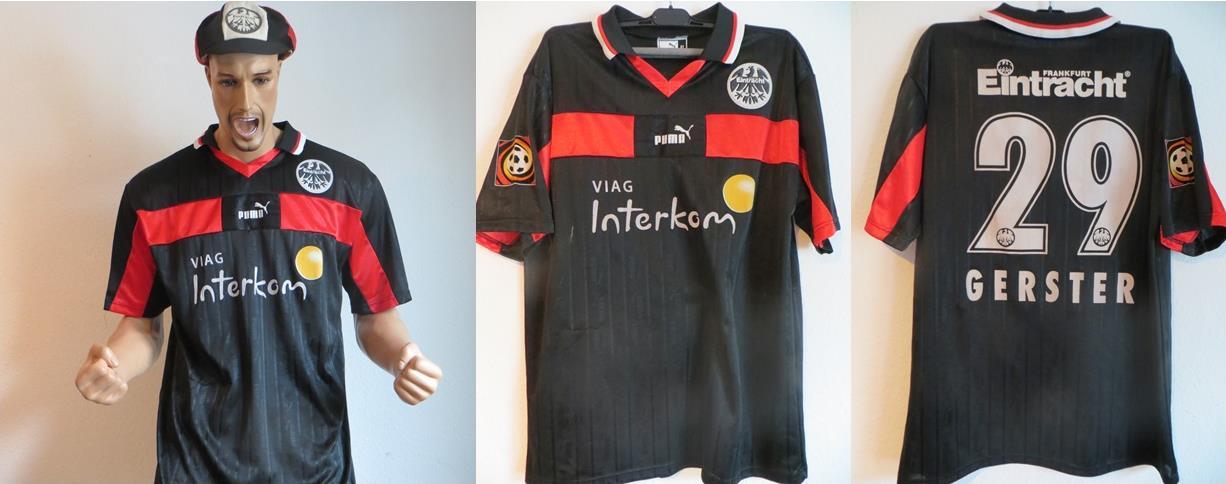 Eintracht Frankfurt Trikot Gerster 1999 Matchworn