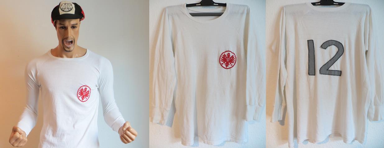 Eintracht Frankfurt Trikot 1965 Matchworn