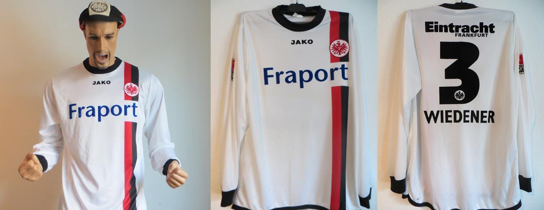 Eintracht Frankfurt Trikot Wiedener 2004 Matchworn