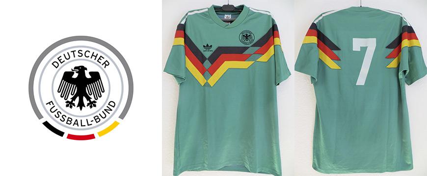 Möller Matchworn Trikot DFB Deutschland 1990