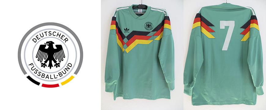 Möller Matchworn Trikot 1990 DFB Deutschland