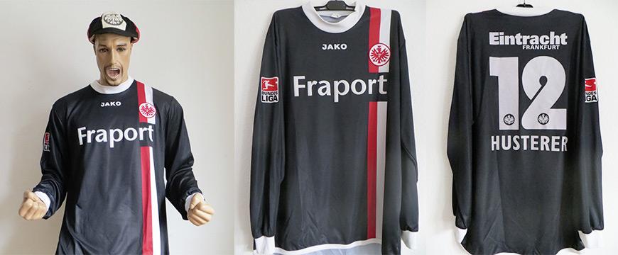 Eintracht Frankfurt Trikot 2005 Husterer Matchworn