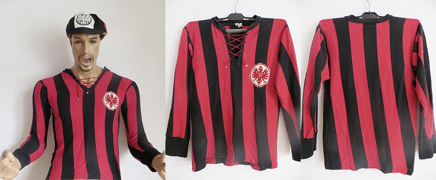 Eintracht Frankfurt Trikot 1963 Matchworn