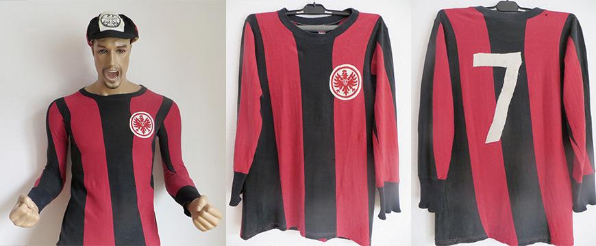 Eintracht Frankfurt Trikot 1968 Nickel Matchworn