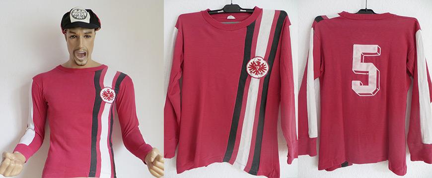 Eintracht Frankfurt Trikot 1972 Matchworn