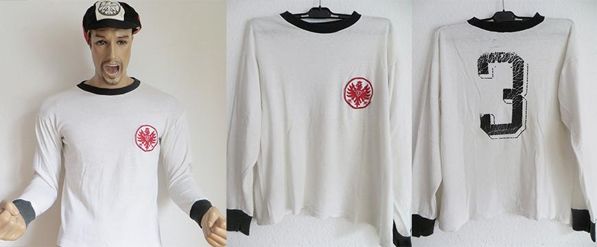 Eintracht Frankfurt Trikot 1973 Matchworn