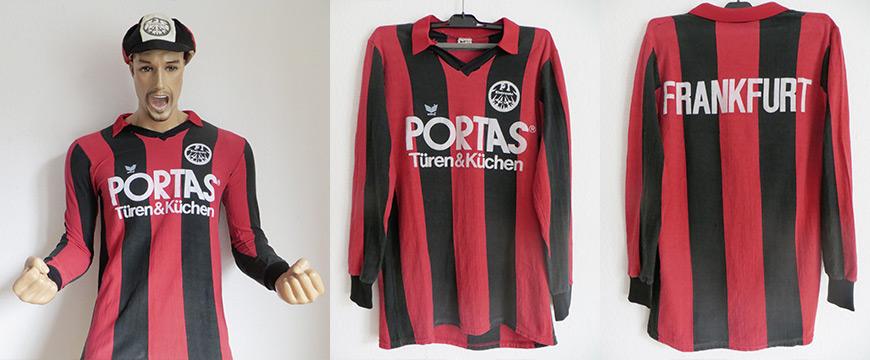 Eintracht Frankfurt Trikot 1985 Portas