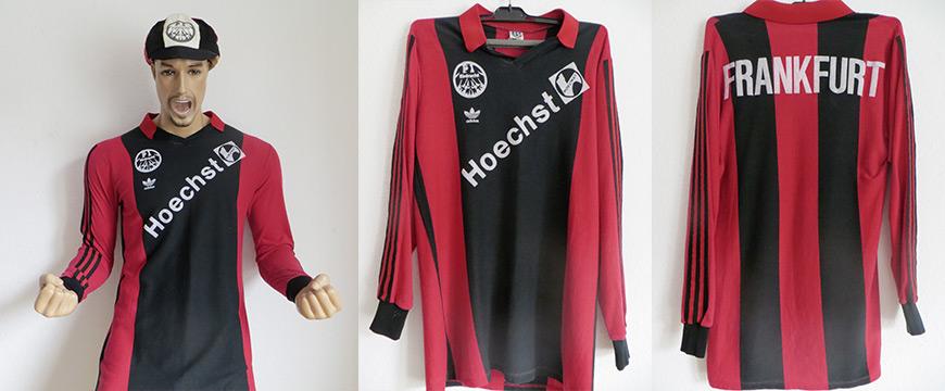 Eintracht Frankfurt Trikot 1985 Adidas Hoechst