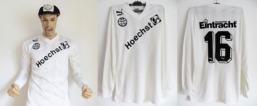 Eintracht Frankfurt Trikot Hoechst 1988 Matchworn