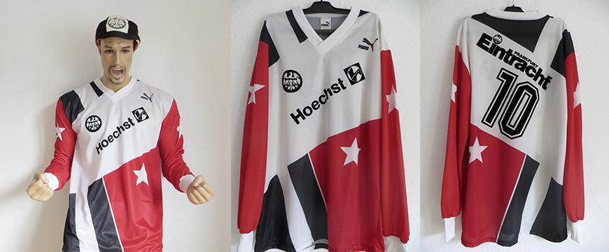 Eintracht Frankfurt Trikot Hoechst 1991