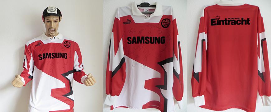 Eintracht Frankfurt Trikot 1992 Samsung