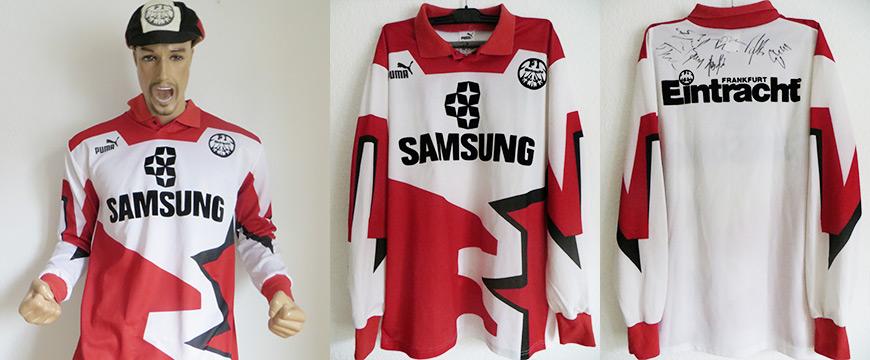 Eintracht Frankfurt Trikot Samsung 1992