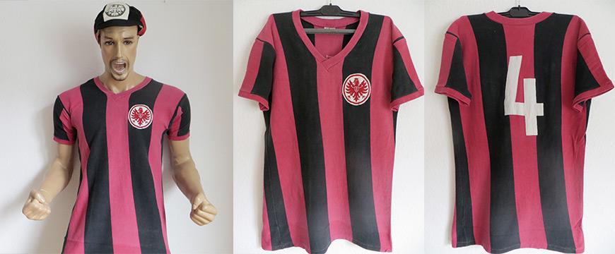 Eintracht Frankfurt Trikot Matchworn Wilhelm Huberts 1969