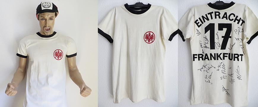 Eintracht Frankfurt Trikot Matchworn 1974