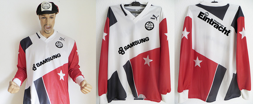 Eintracht Frankfurt Trikot Samsung 1991