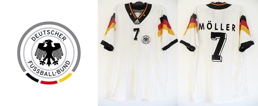 Deutschland Trikot Andy Möller Matchworn 1993