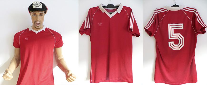 Eintracht Frankfurt Trikot UEFA Cup 1980