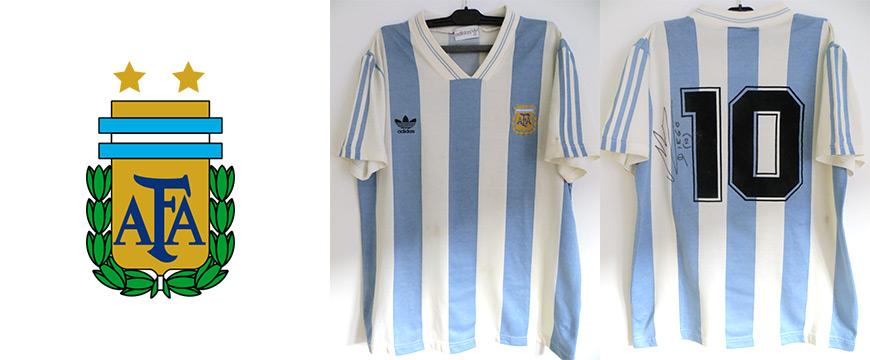 Trikot Matchworn Diego Armando Maradona Argentinien 1993