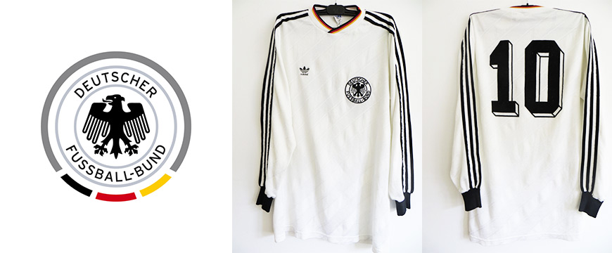Lothar Matthäus Matchworn Trikot Deutschland Nationalmannschaft