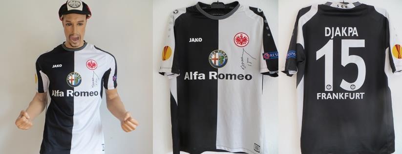 Eintracht Frankfurt Trikot2014 Matchworn