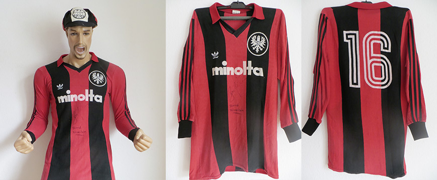 Eintracht Frankfurt Trikot 1980 Minolta Adidas Trikot Sammlung